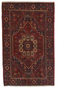 Gholtogh Dywan 78X124 Orientalny Tkany Ręcznie Ciemnobrązowy/Ciemnoczerwony (Wełna, Persja/Iran)