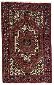 Gholtogh Dywan 81X129 Orientalny Tkany Ręcznie Ciemnoczerwony/Ciemnobrązowy (Wełna, Persja/Iran)