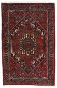Gholtogh Dywan 81X124 Orientalny Tkany Ręcznie Ciemnoczerwony/Ciemnobrązowy (Wełna, Persja/Iran)