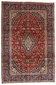 Golpayegan Dywan 205X307 Orientalny Tkany Ręcznie Ciemnoczerwony/Czarny (Wełna, Persja/Iran)