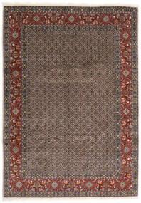 Moud Dywan 245X347 Orientalny Tkany Ręcznie Ciemnoszary/Ciemnoczerwony (Wełna/Jedwab, Persja/Iran)