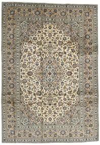 Keszan Dywan 248X354 Orientalny Tkany Ręcznie Ciemnobrązowy/Czarny (Wełna, Persja/Iran)