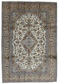 Keszan Dywan 240X352 Orientalny Tkany Ręcznie Ciemnoszary/Jasnoszary (Wełna, Persja/Iran)