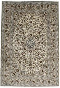 Keszan Dywan 246X357 Orientalny Tkany Ręcznie Ciemnobrązowy/Czarny (Wełna, Persja/Iran)