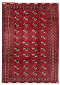 Turkmeński Dywan 199X282 Orientalny Tkany Ręcznie Ciemnoczerwony/Czerwony (Wełna, Persja/Iran)