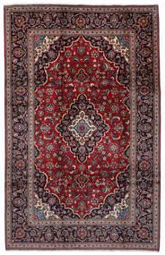 Keszan Dywan 198X308 Orientalny Tkany Ręcznie Ciemnoczerwony/Czarny (Wełna, Persja/Iran)