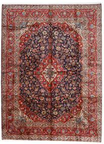Keszan Dywan 296X400 Orientalny Tkany Ręcznie Ciemnoczerwony/Ciemnofioletowy Duży (Wełna, Persja/Iran)