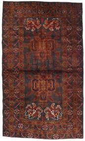 Beludż Dywan 110X185 Orientalny Tkany Ręcznie Ciemnobrązowy/Ciemnoczerwony (Wełna, Afganistan)