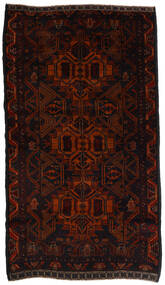 Beludż Dywan 100X200 Orientalny Tkany Ręcznie Ciemnoczerwony/Ciemnobrązowy (Wełna, Afganistan)