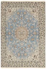 Nain 9La Dywan 115X175 Orientalny Tkany Ręcznie Jasnoszary/Beżowy (Wełna/Jedwab, Persja/Iran)