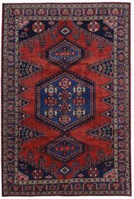 Wiss Dywan 214X318 Orientalny Tkany Ręcznie Ciemnoczerwony/Ciemnofioletowy (Wełna, Persja/Iran)