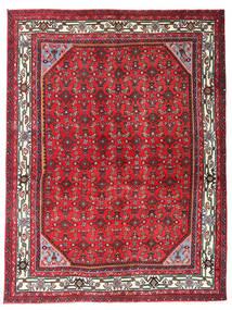 Hosseinabad Dywan 150X198 Orientalny Tkany Ręcznie Czerwony/Ciemnobrązowy (Wełna, Persja/Iran)
