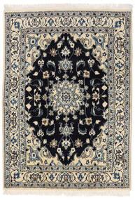 Nain Dywan 145X205 Orientalny Tkany Ręcznie Ciemnoszary/Jasnoszary (Wełna, Persja/Iran)