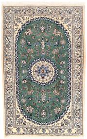 Nain Dywan 168X253 Orientalny Tkany Ręcznie Jasnoszary/Beżowy (Wełna, Persja/Iran)