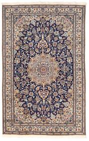 Nain Dywan 155X250 Orientalny Tkany Ręcznie Ciemnoszary/Ciemnobrązowy (Wełna, Persja/Iran)