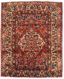 Baktjar Dywan 174X214 Orientalny Tkany Ręcznie Ciemnobrązowy/Ciemnoczerwony (Wełna, Persja/Iran)