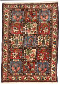 Baktjar Collectible Dywan 114X158 Orientalny Tkany Ręcznie Czarny/Ciemnozielony (Wełna, Persja/Iran)