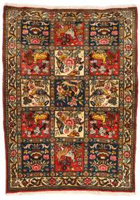 Baktjar Collectible Dywan 107X145 Orientalny Tkany Ręcznie Czarny/Czerwony (Wełna, Persja/Iran)