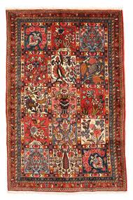 Baktjar Collectible Dywan 98X150 Orientalny Tkany Ręcznie Ciemnobrązowy/Ciemnoczerwony (Wełna, Persja/Iran)