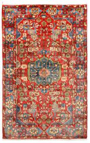 Nahawand Old Dywan 155X258 Orientalny Tkany Ręcznie Ciemnoczerwony/Czerwony (Wełna, Persja/Iran)