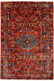 Nahawand Old Dywan 155X230 Orientalny Tkany Ręcznie Ciemnoczerwony/Rdzawy/Czerwony (Wełna, Persja/Iran)