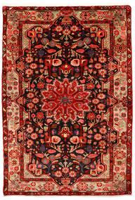 Nahawand Old Dywan 155X226 Orientalny Tkany Ręcznie Rdzawy/Czerwony/Ciemnoczerwony (Wełna, Persja/Iran)