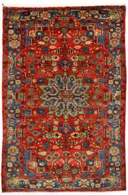 Nahawand Old Dywan 162X242 Orientalny Tkany Ręcznie Ciemnoczerwony/Ciemnobrązowy (Wełna, Persja/Iran)