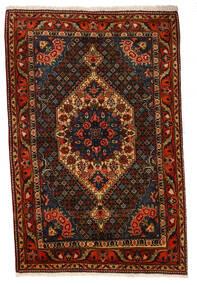 Baktjar Collectible Dywan 107X160 Orientalny Tkany Ręcznie Ciemnobrązowy/Ciemnoczerwony (Wełna, Persja/Iran)