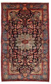 Nahawand Old Dywan 157X260 Orientalny Tkany Ręcznie Ciemnoczerwony/Ciemnobrązowy (Wełna, Persja/Iran)