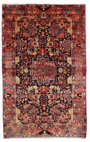 Nahawand Old Dywan 155X265 Orientalny Tkany Ręcznie Ciemnoczerwony/Ciemnobrązowy (Wełna, Persja/Iran)