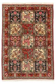 Baktjar Collectible Dywan 103X150 Orientalny Tkany Ręcznie Ciemnobrązowy/Jasnobrązowy (Wełna, Persja/Iran)