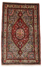 Baktjar Collectible Dywan 100X158 Orientalny Tkany Ręcznie Ciemnobrązowy/Ciemnoczerwony (Wełna, Persja/Iran)