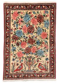 Baktjar Collectible Dywan 106X152 Orientalny Tkany Ręcznie Ciemnobrązowy/Ciemnoczerwony (Wełna, Persja/Iran)