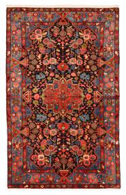 Nahawand Old Dywan 150X240 Orientalny Tkany Ręcznie Ciemnoczerwony/Czarny (Wełna, Persja/Iran)