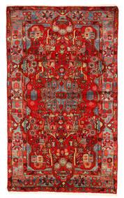 Nahawand Old Dywan 157X260 Orientalny Tkany Ręcznie Ciemnoczerwony/Rdzawy/Czerwony (Wełna, Persja/Iran)