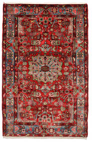Nahawand Old Dywan 153X243 Orientalny Tkany Ręcznie Ciemnobrązowy/Czarny (Wełna, Persja/Iran)