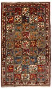 Baktjar Collectible Dywan 155X247 Orientalny Tkany Ręcznie Czarny/Ciemnobrązowy (Wełna, Persja/Iran)