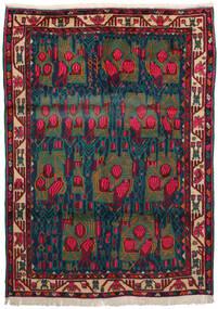 Afszar Dywan 163X228 Orientalny Tkany Ręcznie Ciemnoczerwony/Ciemnoniebieski/Ciemny Turkus (Wełna, Persja/Iran)