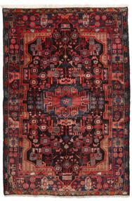 Nahawand Dywan 152X245 Orientalny Tkany Ręcznie Ciemnoczerwony/Czarny (Wełna, Persja/Iran)