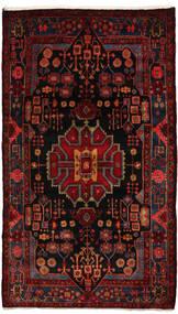 Nahawand Dywan 155X270 Orientalny Tkany Ręcznie Ciemnoczerwony (Wełna, Persja/Iran)