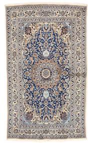Nain Dywan 155X262 Orientalny Tkany Ręcznie Jasnoszary/Beżowy (Wełna, Persja/Iran)