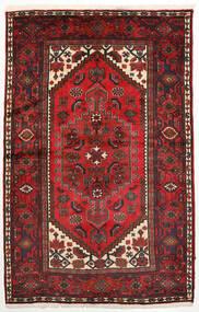 Zanjan Dywan 132X209 Orientalny Tkany Ręcznie Ciemnoczerwony/Ciemnobrązowy (Wełna, Persja/Iran)