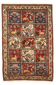 Baktjar Collectible Dywan 115X170 Orientalny Tkany Ręcznie Ciemnobrązowy/Biały/Creme (Wełna, Persja/Iran)