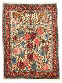 Baktjar Collectible Dywan 101X148 Orientalny Tkany Ręcznie Ciemnoszary/Czerwony (Wełna, Persja/Iran)