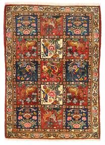 Baktjar Collectible Dywan 115X155 Orientalny Tkany Ręcznie Ciemnobrązowy/Czerwony (Wełna, Persja/Iran)