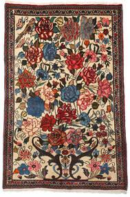 Baktjar Collectible Dywan 100X154 Orientalny Tkany Ręcznie Ciemnobrązowy/Beżowy (Wełna, Persja/Iran)