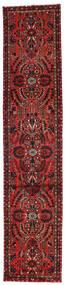 Mehraban Dywan 81X392 Orientalny Tkany Ręcznie Chodnik Ciemnoczerwony/Ciemnobrązowy (Wełna, Persja/Iran)