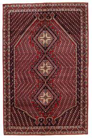 Afszar/Sirjan Dywan 149X228 Orientalny Tkany Ręcznie Ciemnoczerwony/Ciemnoszary (Wełna, Persja/Iran)