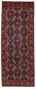 Mahal Dywan 64X164 Orientalny Tkany Ręcznie Chodnik Ciemnoczerwony/Ciemnoniebieski (Wełna, Persja/Iran)