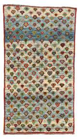 Moroccan Berber - Afghanistan Dywan 101X178 Nowoczesny Tkany Ręcznie Ciemnoszary/Jasnoszary (Wełna, Afganistan)